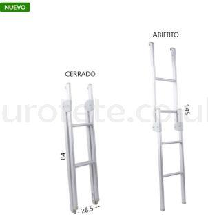 Aluminum folding bunk ladder 89 - 145