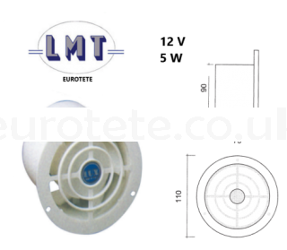 12 volt electric roof or aerator extractor motorhome 1