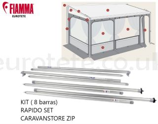 Fiamma-Caravanstore-Zip-98655-922-Spare-Bar-Camping-Caravan-Rafter-Spring-Side-F45-F65-250-07115-01-98660-009-Motorhome-Lateral