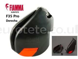 Fiamma-F35-Pro-right-side-shell-Deep-Black-black-awning-motorhome-camper-spare-998670-06A