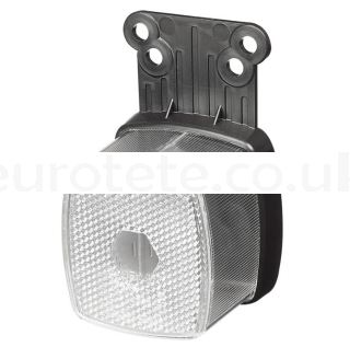 White square pilot light for front reflector 1