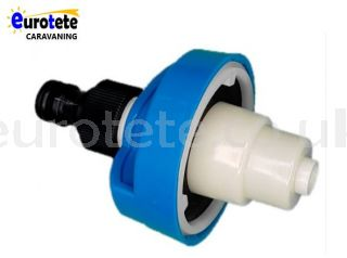 Blue nozzle quick connector water hose adapter motorhome 1