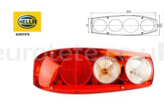 Rear-light-Caraluna-Hella-motorhome-red-white-brake-light-turn signal-light-rear-license-plate-light