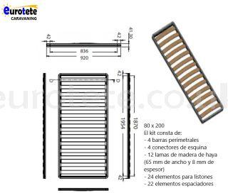 bunk-bed-box spring-individual-sara-van-camper-motorhome-camper-lippert-adria-van