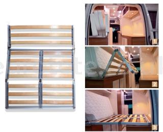 Folding bed kit for camper van 2000 x 1400 mm 1