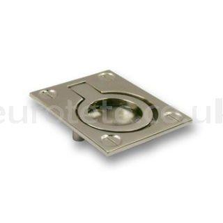 6 cm stainless steel zamak hatch handle motorhome caravan 1