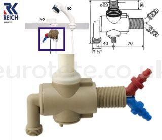 single-lever-mixer-countertop-Reich-shower-water-pump-fitting-hose-water-installation-motorhome-caravan-plumbing-taps
