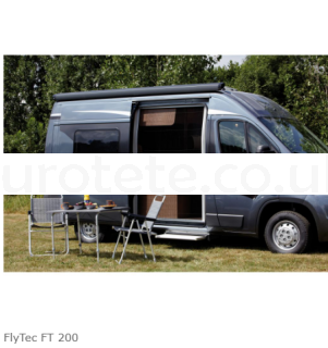 Ducato Mosquito Net Dometic FlyTec FT 200 camper 1