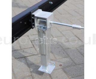 Leveling feet 290 - 420 mm SMV aluminum kit motorhome 1