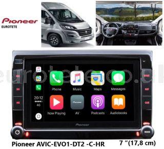 Pioneer AVIC-EVO1-DT2-C-HR navigation-fiat-ducato-motorhome-1