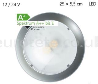 Plafon-25-cm-led-chrome-circular-12-24-volts-motorhome