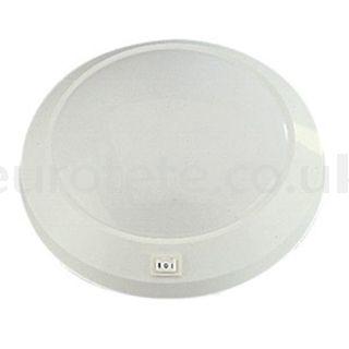 Ceiling 23 cm circular 12 volts motorhome 1