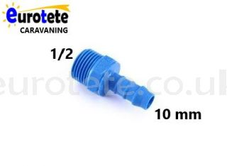 10 mm to 1/2 male thread water fitting 1