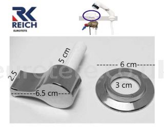 Chrome-plated-rotary-rosette-knob-Reich-mixer-water-shower-Carletta-reimo-camper-caravan-motorhome-1