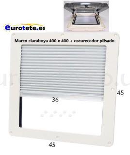 Frame-45 x 45-with-blackout-pleated-skylight- Remis-REMItop-vista-streamline-motorhome-Hymmer-motorhome-1