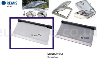 Mosquito net-replacement-skylight-Hymmer-400 x 400-white-Remis- Remitop-vista-streamline-motorhome-0