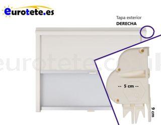 Right cover 9 x 5 cream window frame motorhome caravan 1