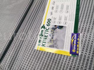 Floor advance 300 x 600 Brunner Kinetic 600 g / m2 gray carpet advance camping