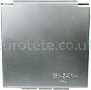 Silber gray CEE cover 105 mm x 105 mm motorhome 1