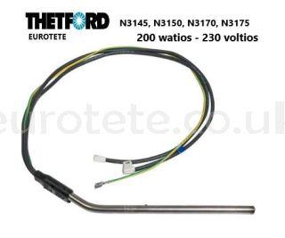 Thetford-resistance-200 watts- 230-volts-N3145- N3150-N3170-N3175-refrigerator
