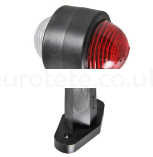 Red and white gauge 12 cm with lateral arm motorhome 1
