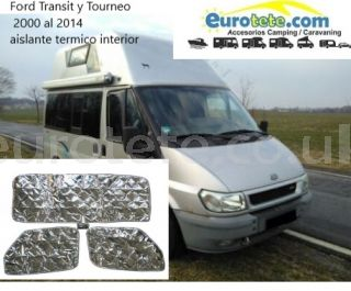 Ford Transit y Tourneo 2000 al 2014 aislante termico interior 3