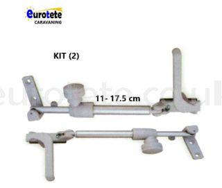 Compas 11 - 17.5 cm kit right + left gray Plastoform window 1
