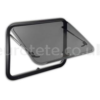 Ventana 750 x 465 Dometic S7P abatible con marco aluminio camper 1