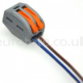 Wago 2 terminal strip electricity cable 1