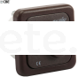 Rotary CBE switch dark brown fan or central lighting motorhome caravan 2