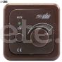 Rotary CBE switch dark brown fan or central lighting motorhome caravan 3