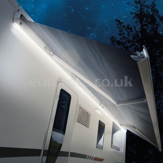Tira led de 5 metros luz blanca 6500 k toldo autocaravana 1