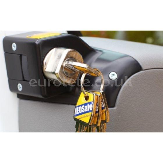 Cerradura Heo Safe Fiat Ducato 250 / 290. Peugeot Boxer y Citroen Jumper a partir 2006 seguridad puerta de autocaravana 1