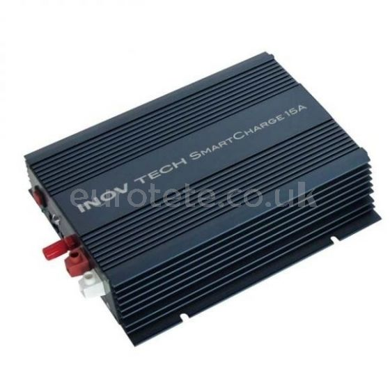 Cargador de baterias auxiliares 15 amperios Inovtech autocaravana