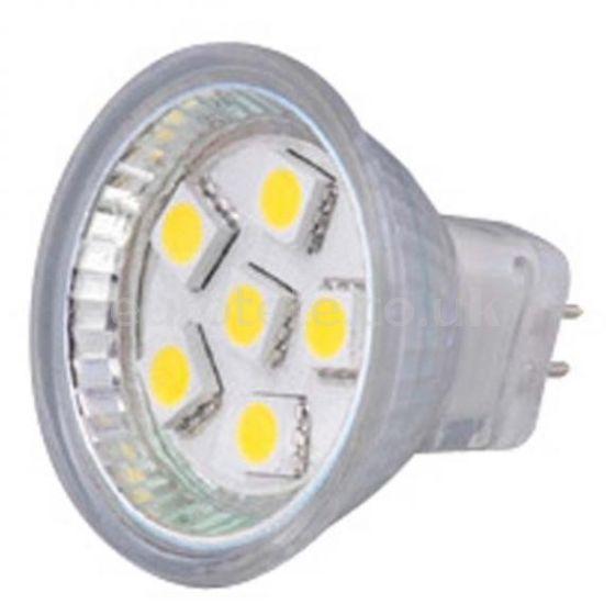 Bombilla led GU4 led smd 80 lumens Inovtech 12 voltios para autocaravana furgonetas embarcaciones nautica 1