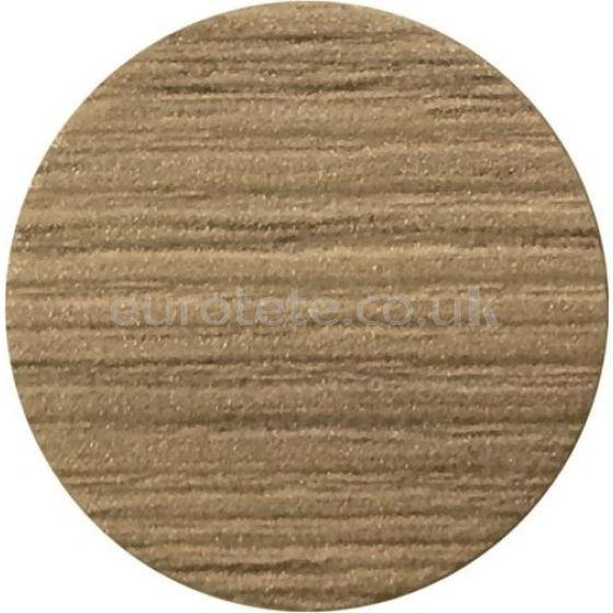 Adhesivo redondo beig para mueble pared autocaravana