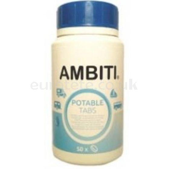 Ambiti Potable Tabs pastillas potabilizadoras de agua para autocaravana y nautica embarcacion barco 1