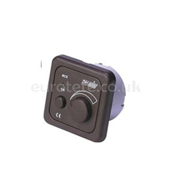 Rotary CBE switch dark brown fan or central lighting motorhome caravan 1