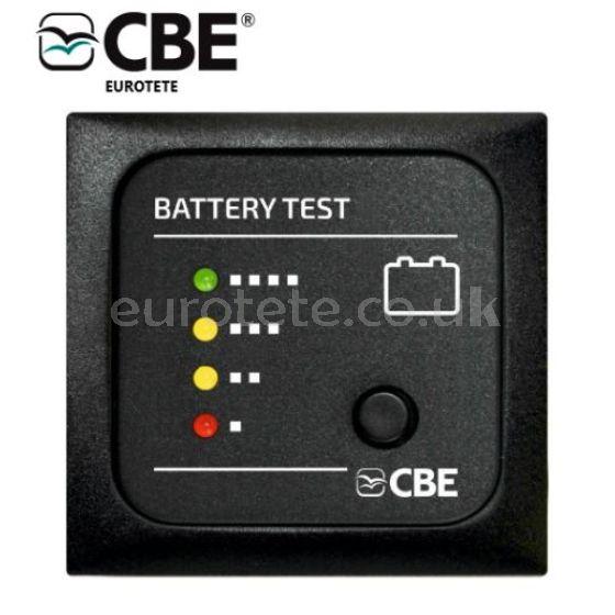 CBE panel de prueba MTB bateria autocaravana camper 5